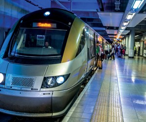 Gautrain at Sandton Station.jpg