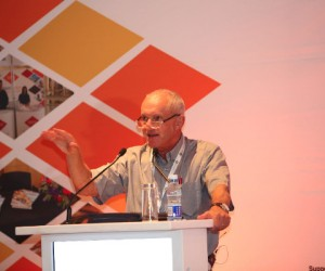 John Robbie, speaking at the launch of SETE at Africa Travel Week in April 2017
