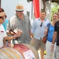 Young wine barrel tasting at KWV.JPG